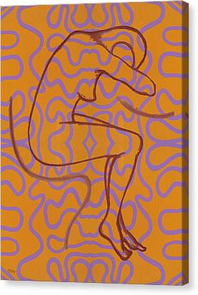 Nude 13 Canvas Print by Patrick J Murphy
