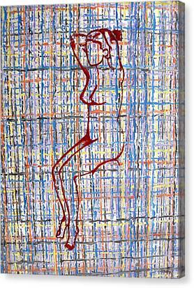 Nude 15 Canvas Print by Patrick J Murphy