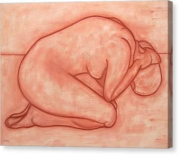 Nude 19 Canvas Print by Patrick J Murphy