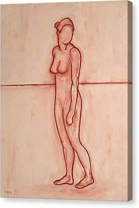 Nude 39 Canvas Print by Patrick J Murphy