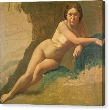 Degas Canvas Print - Nude Study by Edgar Degas