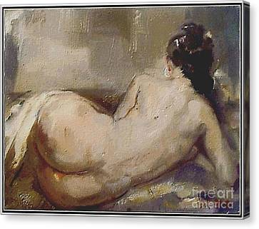 nude woman NW1 Canvas Print by Danilo