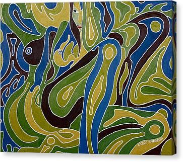 Nude3 Canvas Print