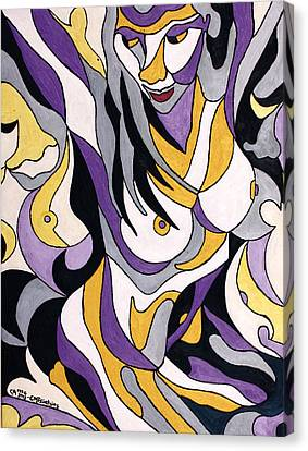 Nude6 Canvas Print