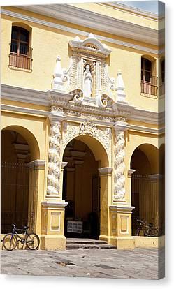 Nuestra Senora De La Merced Cathedral Canvas Print by Michael Defreitas
