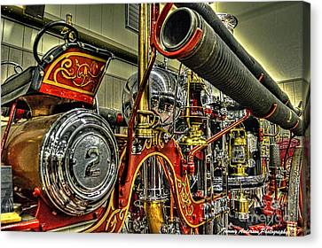 Steamer Truck Canvas Print - Number 2 Steamer by Tommy Anderson