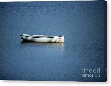 Number Two Boat Canvas Print