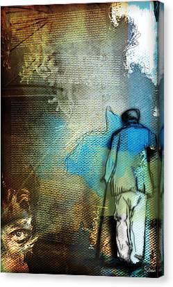 Numbers 1 Canvas Print