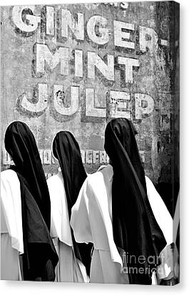 Nun Of That Canvas Print