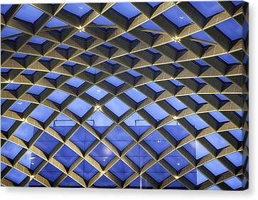 Counterpoint Canvas Print - Nurb Skylight Structure by Lynn Palmer