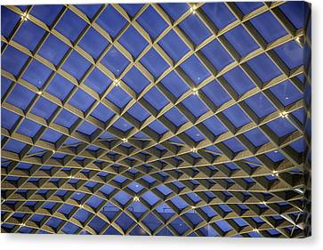 Counterpoint Canvas Print - Nurb Structure by Lynn Palmer