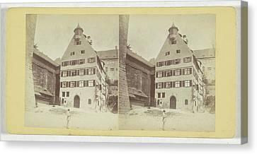 Nurnberg Pilate Haus, Germany, Johann Friedrich Stiehm Canvas Print