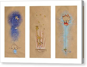 Nursery Collection 1 Canvas Print by David Breeding