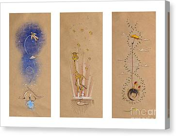 Nursery Collection 2 Canvas Print by David Breeding