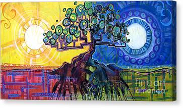 Nurturing Hands Canvas Print by Patrick Parker