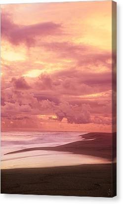 China Beach Canvas Print - Nurturing Hues by Lourry Legarde