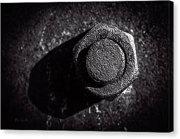 Bolts Canvas Print - Nut And Bolt by Bob Orsillo