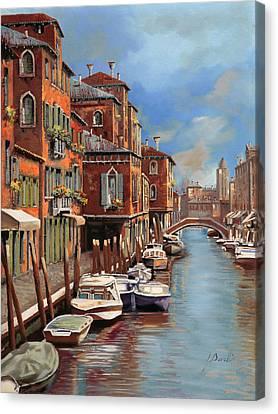 nuvole a Murano Canvas Print