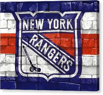 Ny Rangers-2 Canvas Print by Nina Bradica