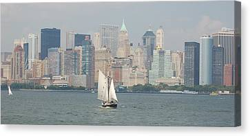 Ny City Skyline Canvas Print