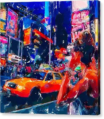 Nyc 2 Canvas Print by Chris Butler