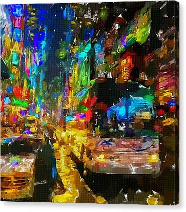 Nyc 3 Canvas Print by Chris Butler