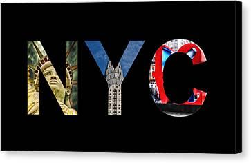 Nyc  Canvas Print by Celestial Images