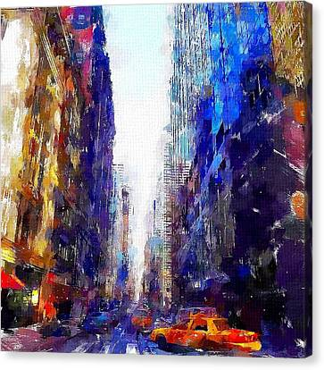 NYC Canvas Print by Chris Butler