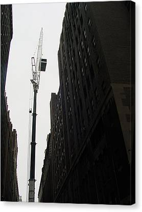 Nyc Constraction Canvas Print