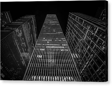 Nyc Forefront Canvas Print