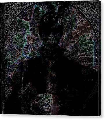 Nyc Map In Color Canvas Print