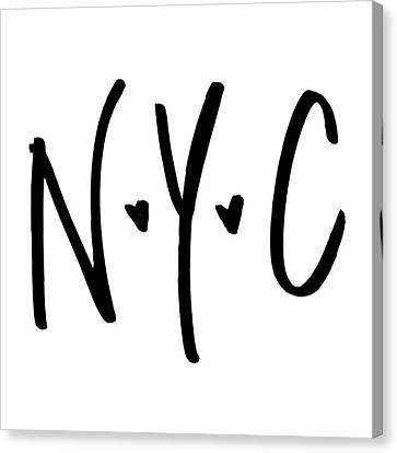 Times Square Canvas Print - N.y.c by Sd Graphics Studio