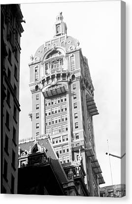 Nyc, Singer Building, 1967 Canvas Print