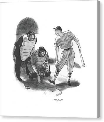 Nylon! Canvas Print by Richard Decker