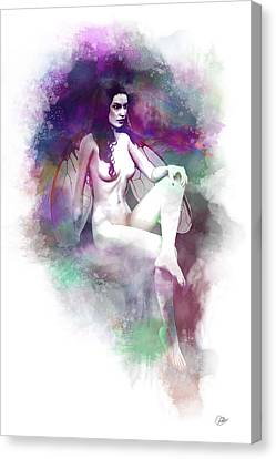 Nymph Lake  Canvas Print by Quim Abella
