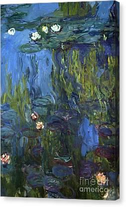 Nympheas Canvas Print - Nympheas by Calude Monet