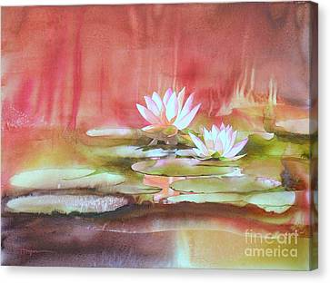 Waterlily Canvas Print - Nympheas by Robert Hooper