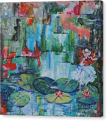 Nymph's Lily Pond- Sold Canvas Print