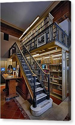 Nypl Genealogy Room  Canvas Print