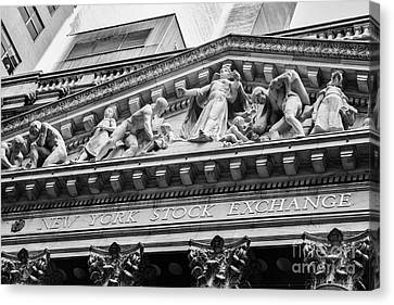 Nyse Canvas Print by Jerry Fornarotto