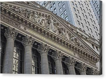 Nyse  New York Stock Exchange Wall Street Canvas Print