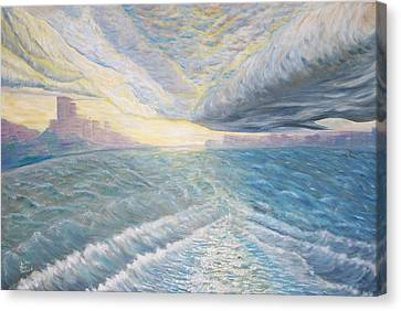 Nysea By Storm Canvas Print by Chris RoseS