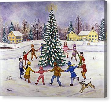 O' Christmas Tree Canvas Print by Linda Mears
