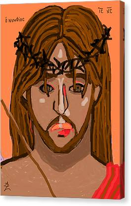 O Nymphios Canvas Print by Anita Dale Livaditis