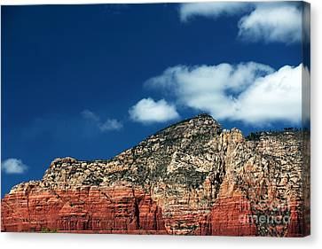 Oak Creek Blues Canvas Print by John Rizzuto