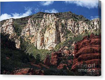 Oak Creek Canyon Canvas Print by John Rizzuto