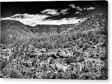 Oak Creek Clouds Canvas Print by John Rizzuto