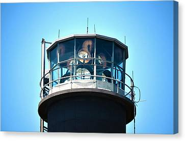 Oak Island Lighthouse Beacon Lights Canvas Print by Sandi OReilly