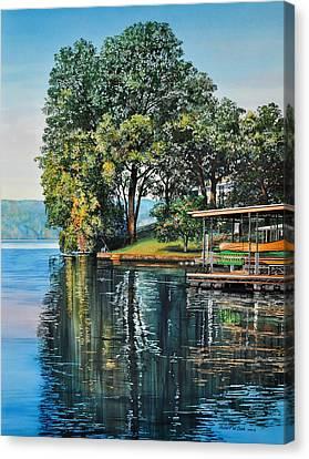 Oak Point Canvas Print