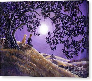 Oak Tree Meditation Canvas Print